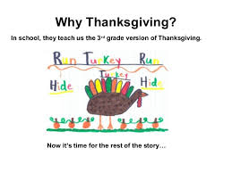 thanksgiving the rest of the story