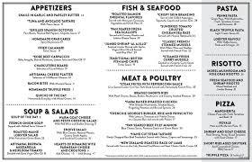 restaurants with light menus george s on sunset