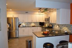 kitchen cabinets copper countertops white cabinets two tone