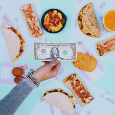 taco bell is offering a one dollar breakfast menu today fortune com