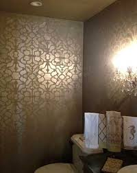 bathroom stencil ideas stencils stencil designs damask stencil patterns for walls