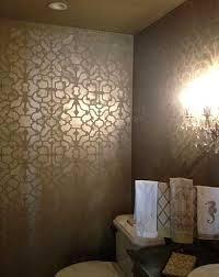 bathroom wall stencil ideas stencils stencil designs damask stencil patterns for walls