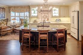 home decor darkbrown unique kitchen island ideas with cream granite