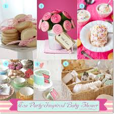 sweet food ideas for a baby shower tea party
