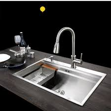 C Kitchen With Sink C C Sus304 Stainless Steel Kitchen Sink Vessel Set With Faucet