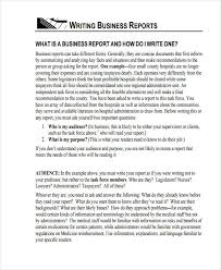report example report example for students 10 report writing