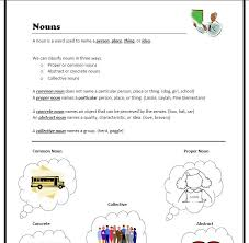 all worksheets collective nouns worksheets for grade 6