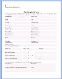 registration forms samples exol gbabogados co