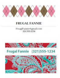 Design Your Own Business Card For Free Make Your Own Business Cards For Free The Krazy Coupon Lady