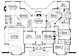 Foyer Plans Two Story Foyer And Grand Room 12091jl Architectural Designs