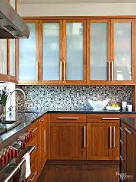 a cherry wood kitchen cabinet kitchen cabinet wood choices better homes gardens