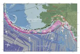 Southeast Alaska Map by Earthquake Along The Alaska Penninsula Jay Patton Online