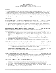 new accounting manager resume sample mailing format