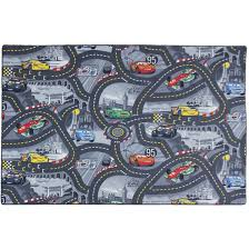 kids carpet disney cars rug streets play in 3 colors 3 sizes