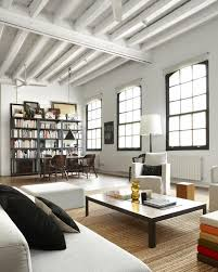 Masculine Apartment Decor by New York Apartment Industrial New York Style Loft In Downtown