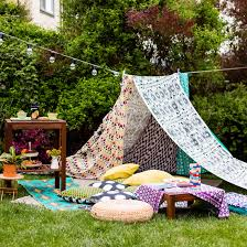 create the ultimate backyard glamping setup with ikea brit co