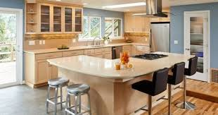 Maple Kitchen Cabinets Light Maple Modern Kitchen Cabinets White Ish Granite Counters