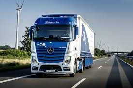 mercedes commercial trucks mercedes trucks krone develop highly efficient semitrailer