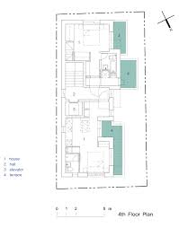 terraced house floor plans gallery of terrace house yul dam modo architect office 32