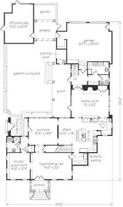 4 bedroom house blueprints the loggia with seperated guest room and courtyard in the