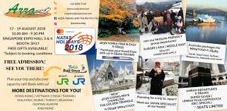 Azza travel natas august 2018