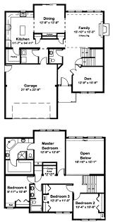 3 bedroom trailer floor plans two story modular all american modular
