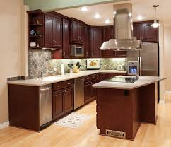 Dark Cherry Wood Kitchen Cabinets by Kitchen Glamorous Kitchen Cabinets Kitchen Cabinets Home Depot