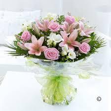 pink bouquet pink bouquet stem by stem florist in folkestone