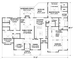 southern style house plan 3 beds 3 baths 2184 sq ft plan 56 170