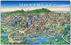 Paper Towns On Maps Downtown Montréal In 1999 X Post R Papertowns Canada