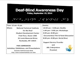 Blind Support Services Deaf Awareness Week Event U2013 Deafrochy
