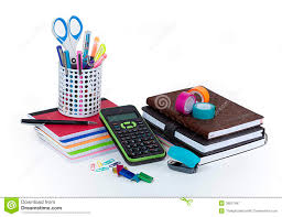papeterie de bureau fournitures de bureau d école et image stock image du bureau
