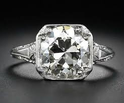 3 26 carat antique diamond engagement ring diamonds in the library