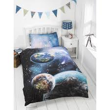 Single Bed Sets 306627 Space Single Duvet1 Bed Duvet Sets Glow In The