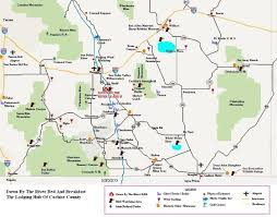 Tucson Arizona Map by Southeast Arizona Parks Down By The River Bed And Breakfast
