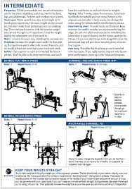 chest workout healthy body and more