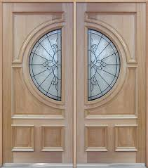 wood doors with glass inserts half circle mahogany wood double doors a650 double door special