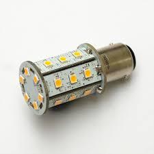 high output led lights ba15d 24 smd 2835 high output led l boatls