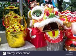 new year lion costume dh hong kong park central hong kong new year gold display
