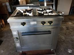 piano cuisine professionnel occasion piano 3 feux gaz avec four morice occasion