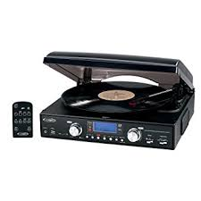 amazon black friday mp3 credit amazon com jensen jta 460 3 speed stereo turntable with mp3
