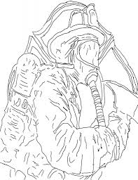 firefighter coloring pages pixelpictart com