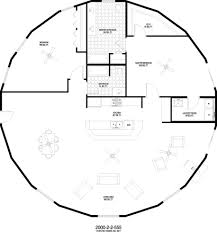 yurt open floor plan the perfect one with a loft added our