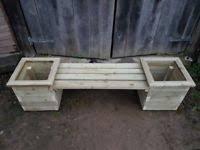 wooden planters pots u0026 ornaments for sale gumtree