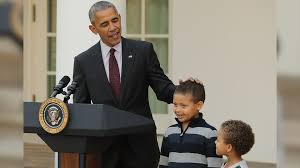 president obama brings nephews to thanksgiving turkey pardon
