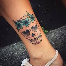 sugar skull tattoos tattoos pinterest sugar skull tattoos