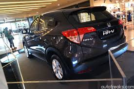 crossover honda honda previews all new hr v crossover lowyat net cars