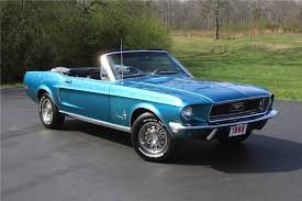 1968 ford mustang convertible 125777