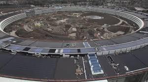 spaceship campus apple apple u0027s 5 billion u0027spaceship u0027 campus is covered in mud business