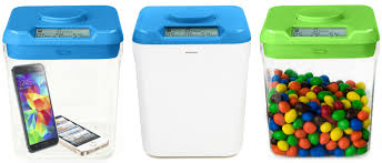 plastic kitchen canisters ksafe by kitchen safe the time lock safe